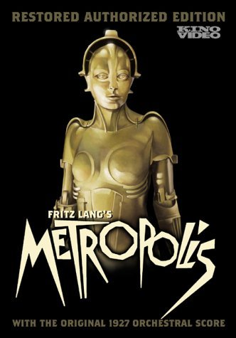 Fritz Lang's Metropolis, 1927 German classic science fiction movie, order SKU B00007L4MJ2