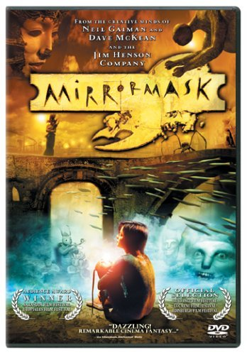 MirrorMask film by Dave McKean, written by Neil Gaiman, starring: Stephanie Leonidas, Gina McKee, Jason Barry